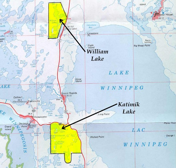 Lake Winnipeg Map
