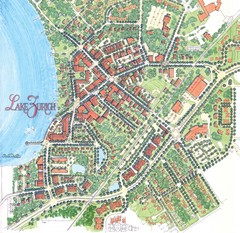 Lake Zurich, Illinois Tourist Map