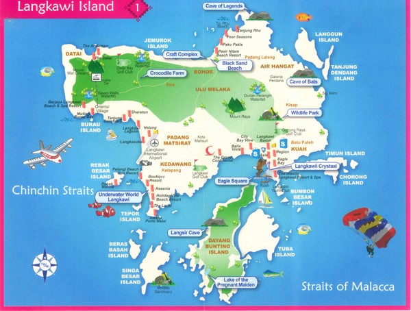 Main Tourist Attractions In Langkawi Langkawi malaysia a nature
