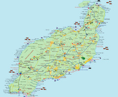 Lanzarote Tourist Map