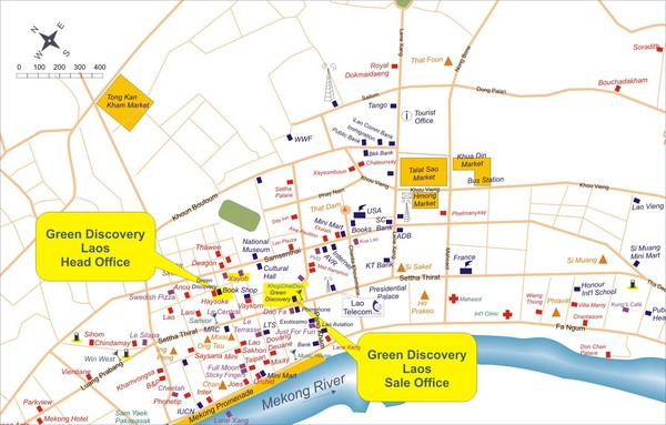 Laos City Tourist Map Laos mappery – Tourist Map Laos