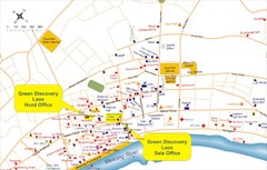Laos City Tourist Map