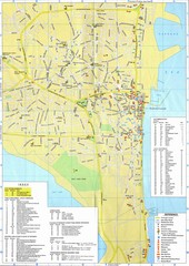 Larnaca Tourist Map