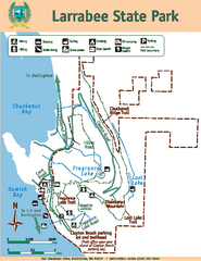 Larrabee State Park Map