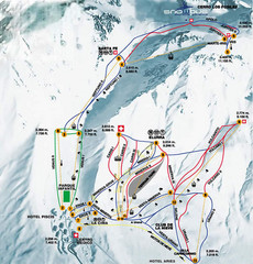 Las Lenas Ski Map