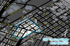 Las Vegas Arts District Map
