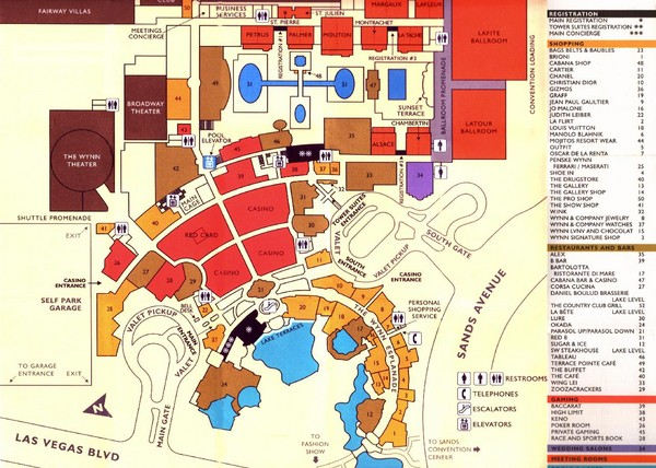 Las Vegas Tourist Map \u2022 Mappery: Las Vegas Tourist Map Pdf At Infoasik.co