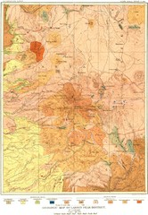 Lassen Peak District Geological Map