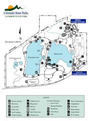 Lathrop State Park Map