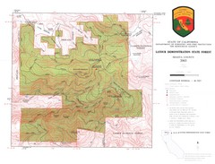 Latour State Forest Map