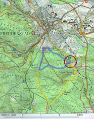 Lauterbad, Germany Map