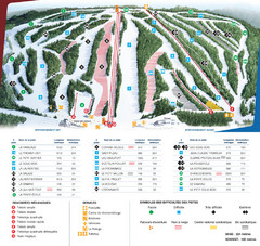Le Relais Ski Trail Map