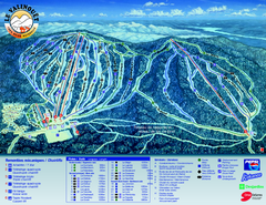 Le Valinouet Ski Trail Map