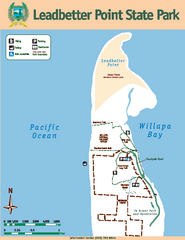 Leadbetter Point State Park Map