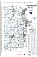 Leavenworth County Road Map