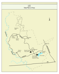 Lee State Park Map