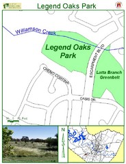 Legend Oaks Park Map