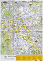 Leipzig Tourist Map