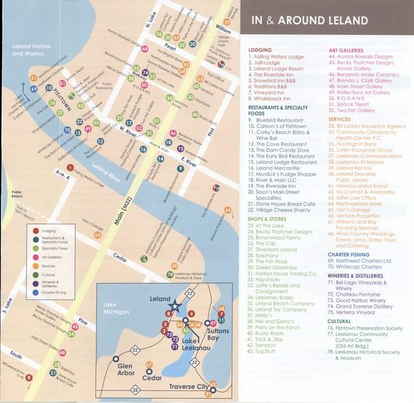 Leland MI Map  Leland Mi  Mappery