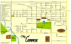 Lennox Town Map