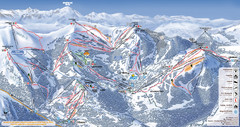 Les Gets Ski Resort Map