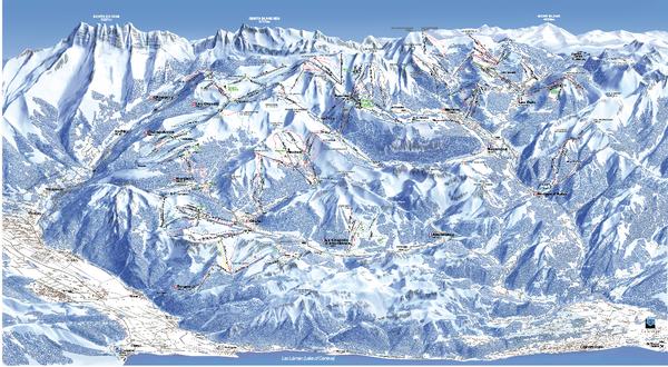 Les portes du soleil portes du soleil ski trail map for Les portes logiques pdf