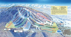 Liberty Mountain Ski Trail Map
