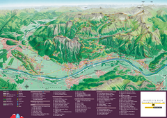 Liechtenstein Tourist Map