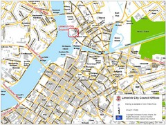 Limerick City Map