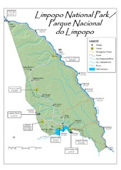 Limpopo National Park Map