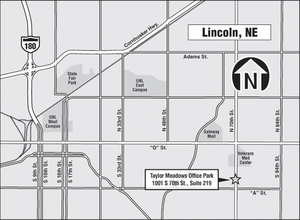 Map Of Lincoln Ne Bnhspine Com