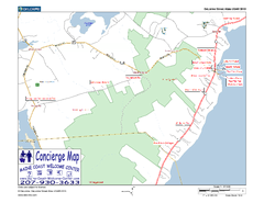 Lincolnville, Maine, USA Map