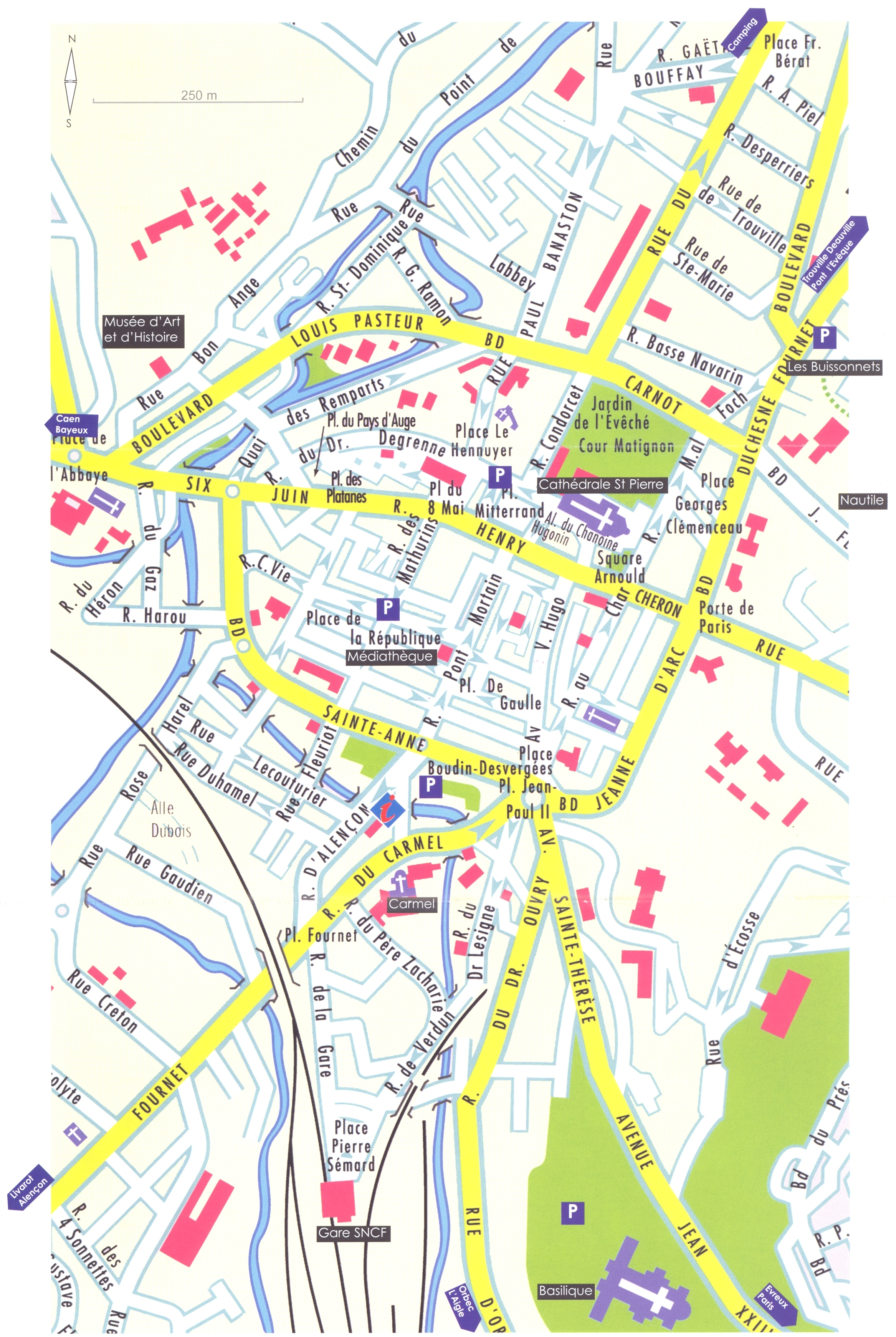 Lisieux France  City new picture : Lisieux Map Lisieux France • mappery