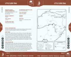 Little Elden Trail Map