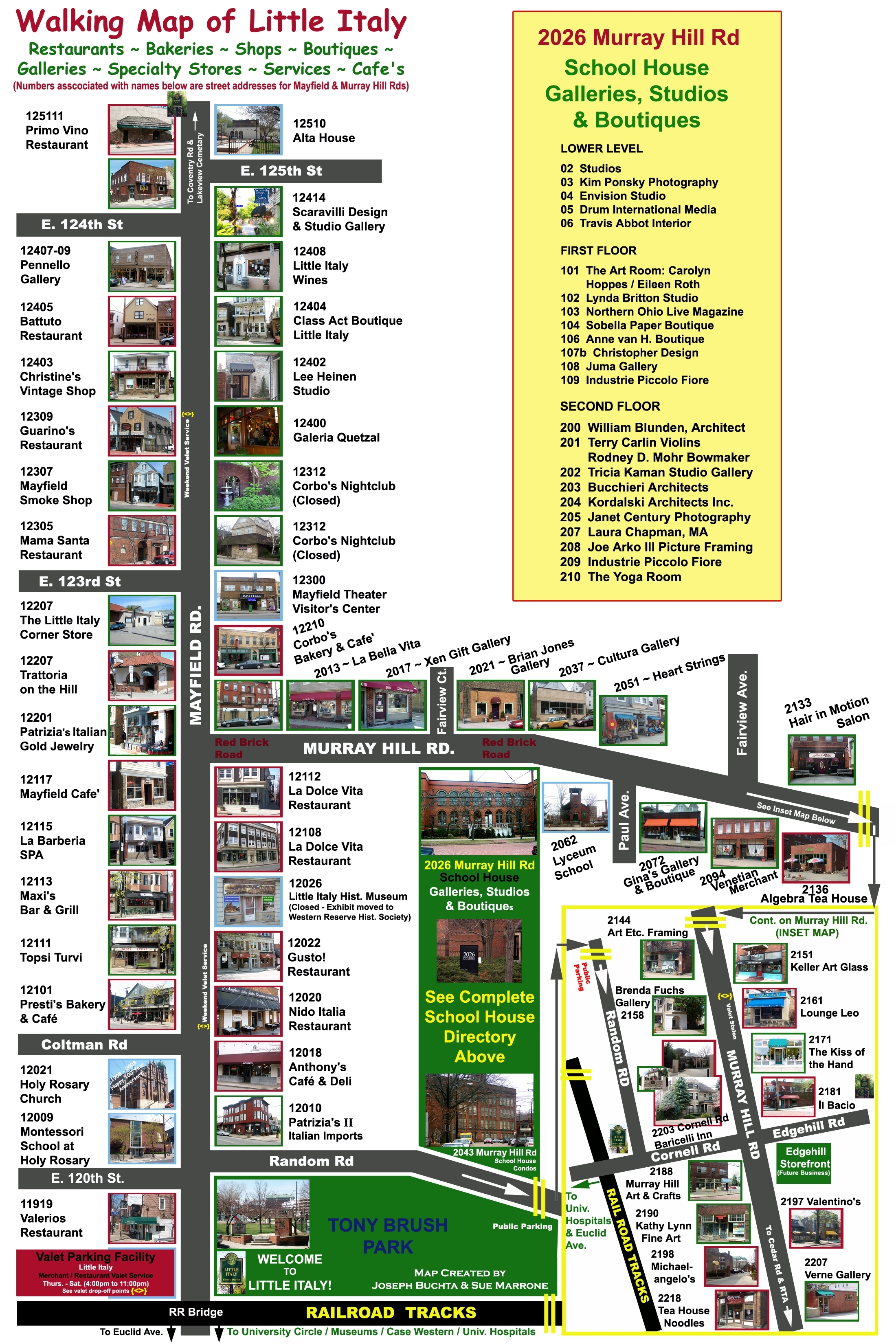Little Italy Map Little Italy Cleveland Oh Mappery