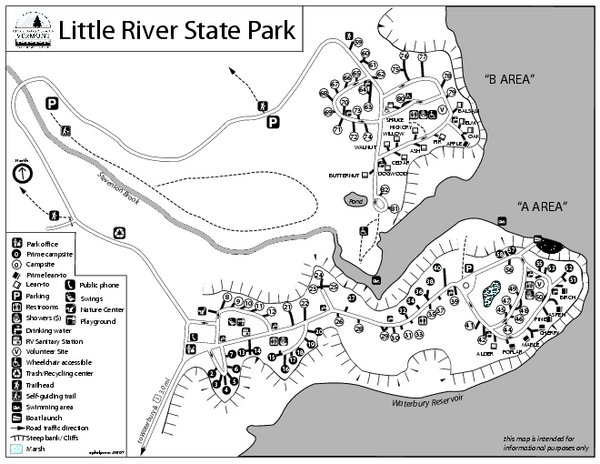 Little River State Park Campground Map