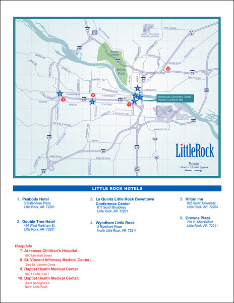Little Rock Map - Little Rock AR • mappery