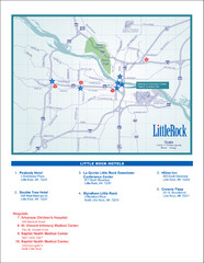 Little Rock Map