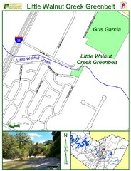 Little Walnut Creek Map