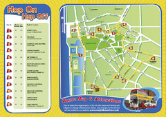 Liverpool Bus Tour Map