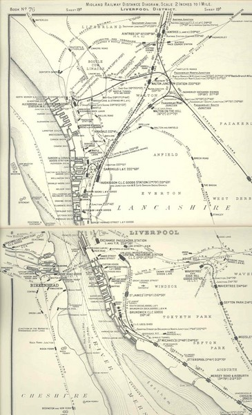 Liverpool Railway Map