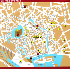 Livorno Tourist Map