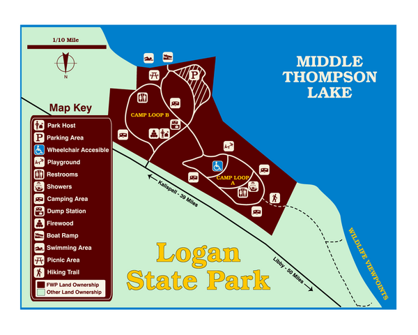 Logan State Park Map