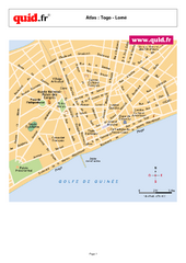 Lome City Map
