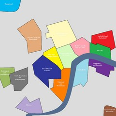 London Attraction and Tourist Map