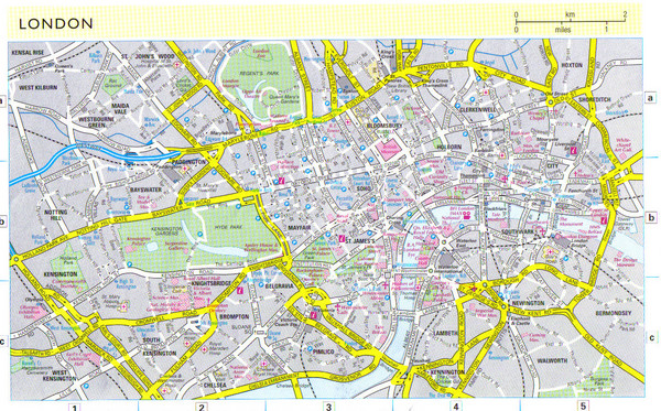 London City Map England \u2022 Mappery: London City Map At Infoasik.co