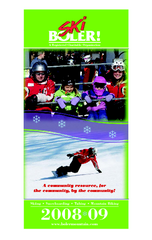 London Ski Club at Boler Mountain and Brochure...