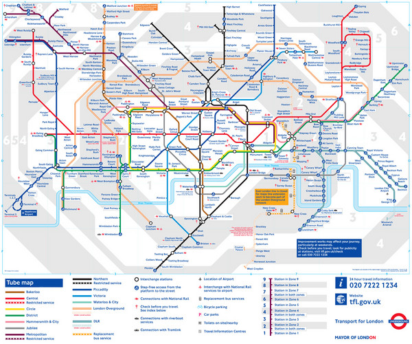 Day Travel Card London Zones