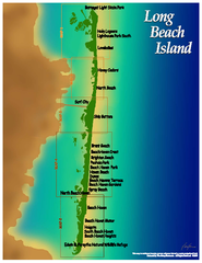 Long Beach Island, New Jersey Map