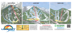 Lookout Pass Ski Trail Map